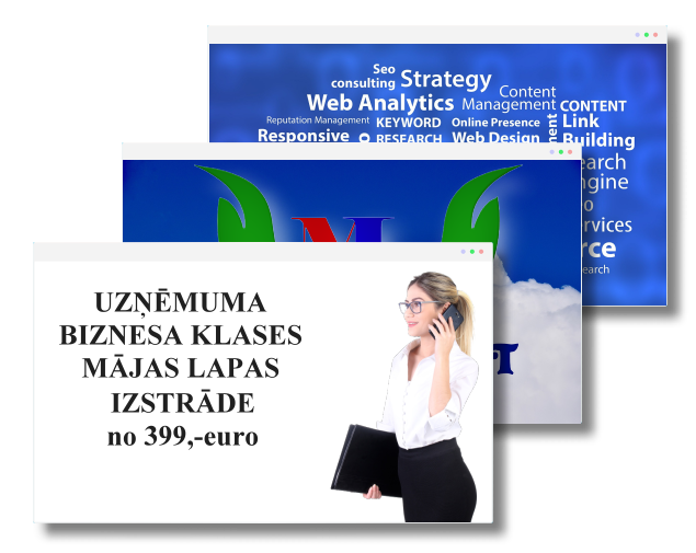 Uzņēmuma mājas lapas izstrāde