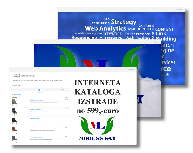 Interneta kataloga izstrāde